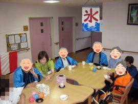 夏祭り(かき氷)